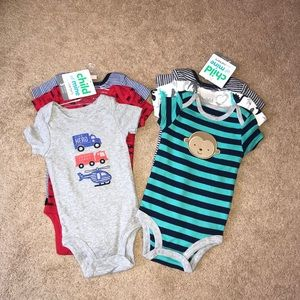 NWT Child of Mine by Carters's onesies